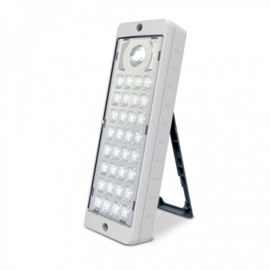LUZ EMERGENCIA ORIENTABLE 33 LED SLIM BAT.4V2AH GAMASONIC