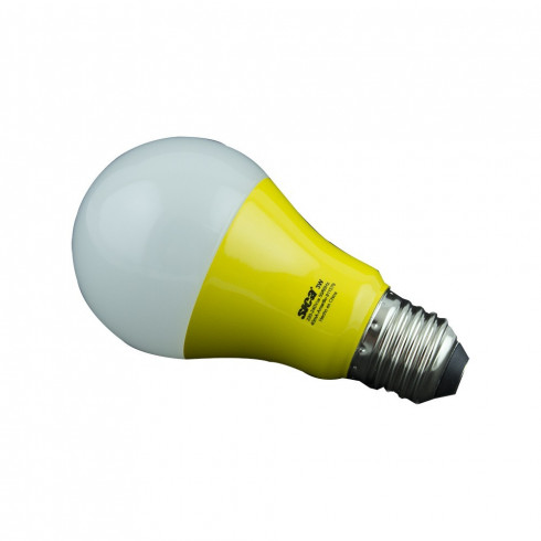 LAMPARA LED CLASICA 3W COLORES E27 220V SICA