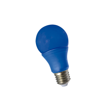 LAMPARA LED CLASICA 3W COLORES E27 220V TBCIN