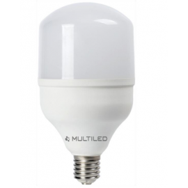 LÁMPARA LED ALTA POTENCIA E27 MULTILED