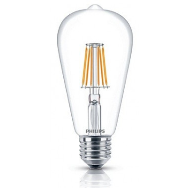 LAMPARA LED FIJA VINTAGE 7.5-70W E27 ST64 PHILIPS