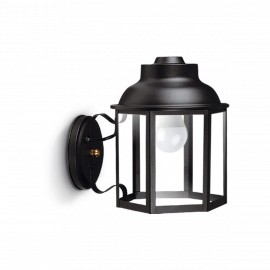 FAROL HEXAGONAL BASE CON CRUZ NEGRO SAN JUSTO