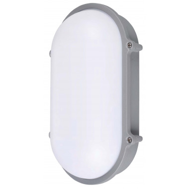 LUMINARIA LED ALUMINIO OVAL 10W IP65 FRÍA JA