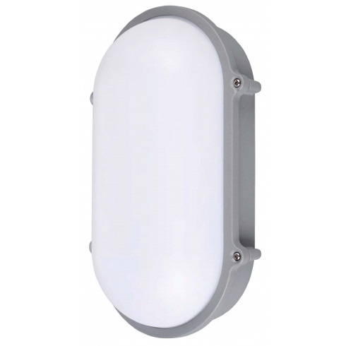LUMINARIA LED ALUMINIO OVAL 10W IP65 FRIA JA