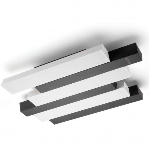 PLAFÓN PIANO CELLING LÁMPARA LED BLACK 1X32 58081 PHILIPS