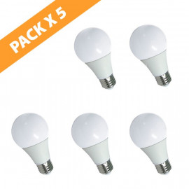 PACK X 5 LÁMPARAS LED BULB E27 WENOVA