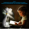 LÁMPARA DE ESCRITORIO INFANTIL COLOR BLANCA BL1607  THE LAMP CO