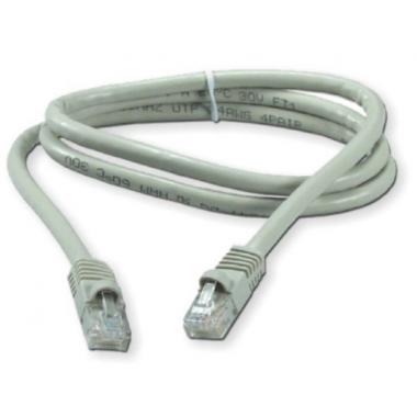 PATCHCORD RJ45 CAT.6 1MTS. BLANCO