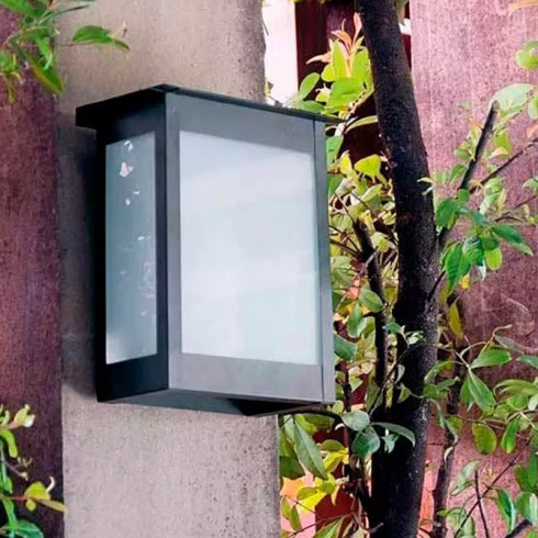 FAROL ORIENTABLE P/PARED NEGRO