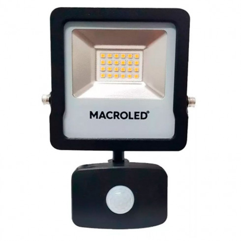 REFLECTOR LED CON SENSOR MACROLED