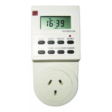 TIMER DIGITAL ENCHUFABLE PROGRAMABLE