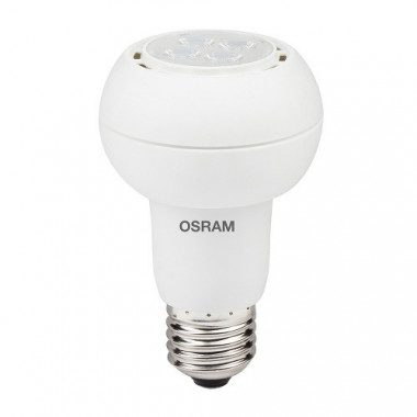 LAMPARA LED REFLECTORA R63 5.5W/830 240V E27 30° OSRAM